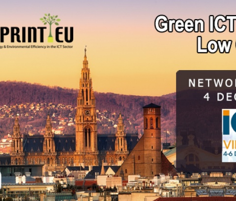 ICTFOOTPRINT.EU NETWORKING SESSION GREEN IT ICT2018 VIENNA